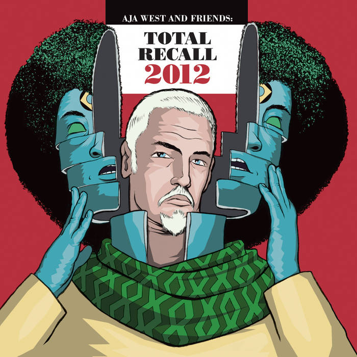 Total Recall 2012 cover art