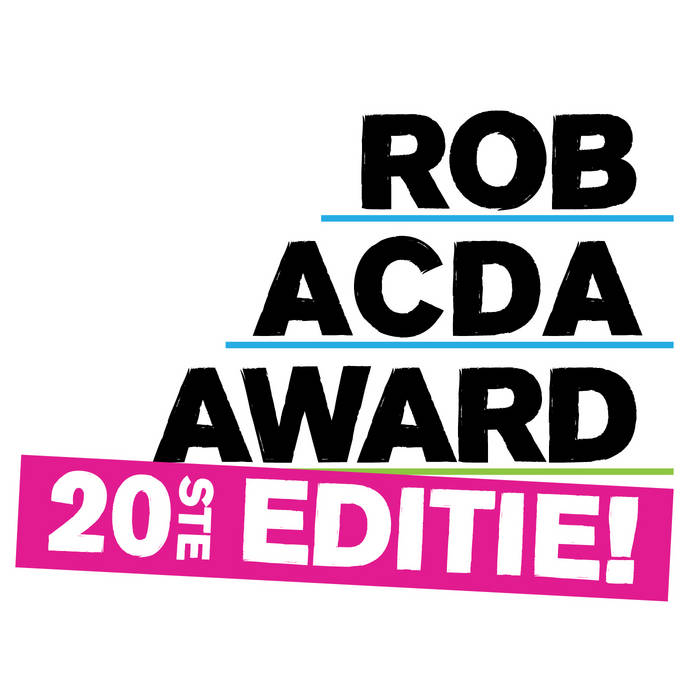 Rob Acda Award 2014/2015 cover art