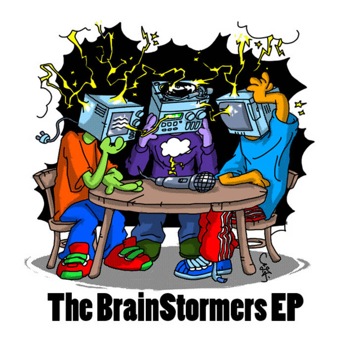 The BrainStormers EP cover art