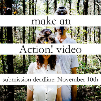 make an   A C T I O N !   video cover art