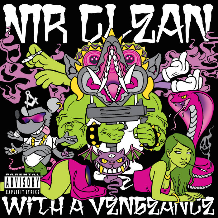 WITH A VENGEANCE cover art