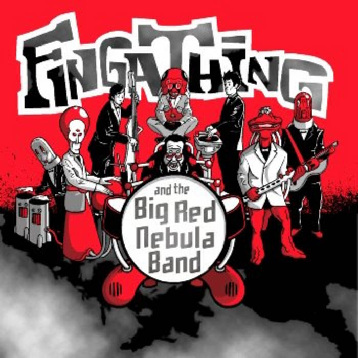Fingathing and the Big Red Nebula Band cover art