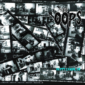 "THEE OOPS ""Happy Charlie"" EP cover art"