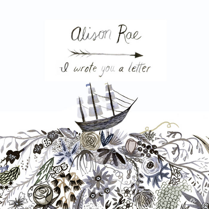 i wrote you a letter cover art