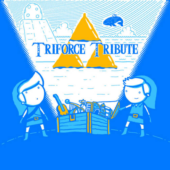 Triforce Tribute cover art