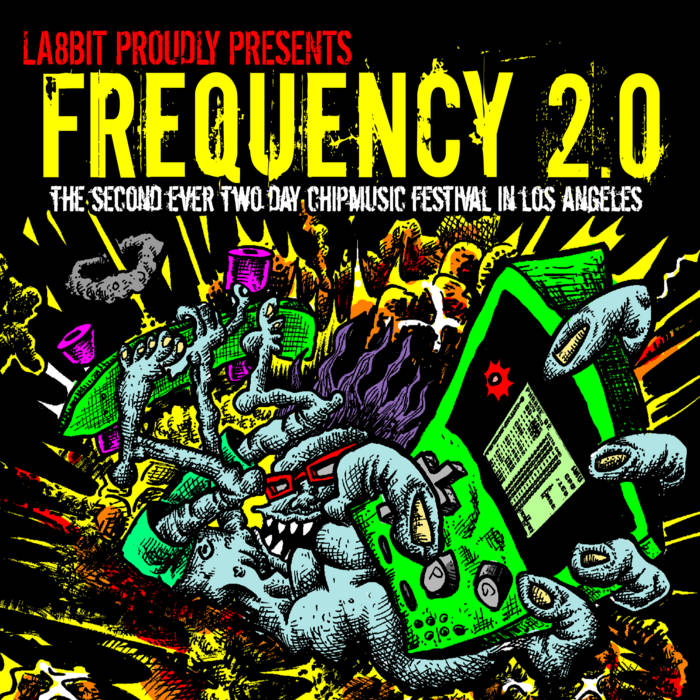 LA8BIT: Frequency 2.0 Sampler cover art