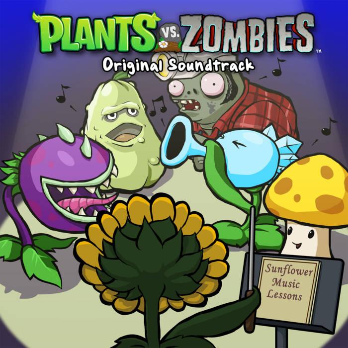 Plants vs. Zombies Soundtrack cover art