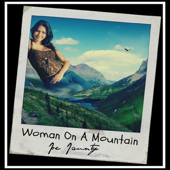 WOMAN ON A MOUNTAIN ©2012 cover art