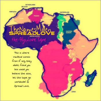 SpreadLove  TheFlyLoveTape cover art