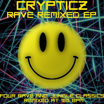 Rave Remixed EP cover art