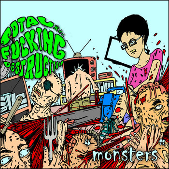 Monsters EP cover art