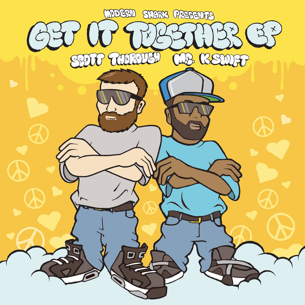 Album Cover for K~Swift and Scott Thorough's Get It Together EP