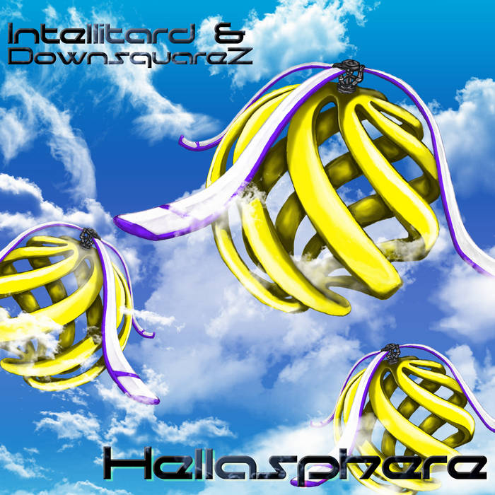 Intellitard & DownsquareZ - The Hellasphere cover art