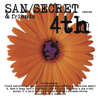 San/Secret 4th & Friends cover art