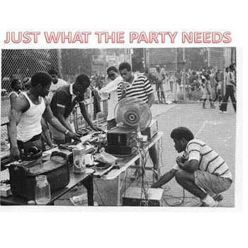 """Just What The Party Needs"" cover art"