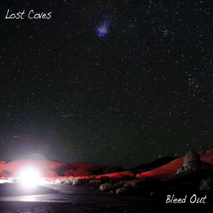 Bleed Out LP cover art