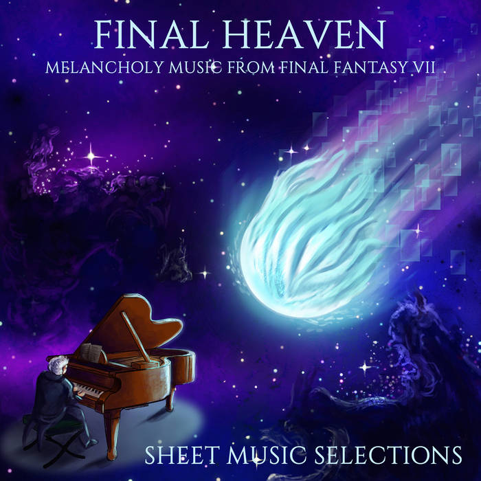Final Heaven: Melancholy Music From Final Fantasy VII Sheet Music Selections (no music) cover art