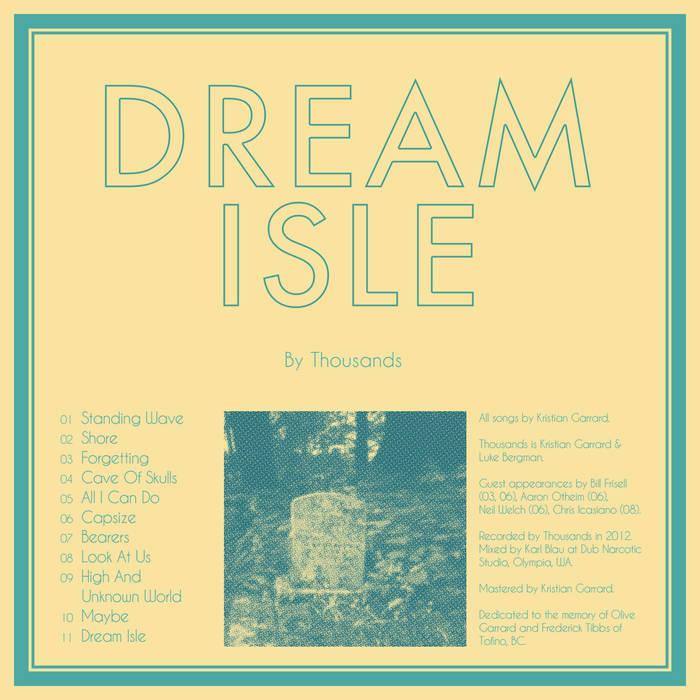 Dream Isle cover art