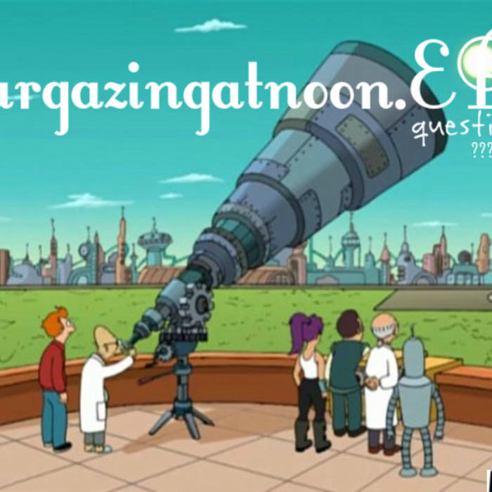 stargazingatnoon.EP cover art