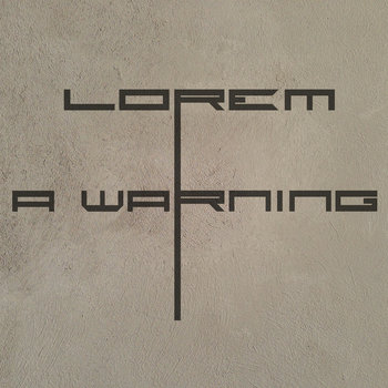 A Warning cover art