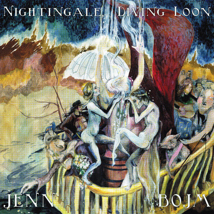 Nightingale, diving loon cover art