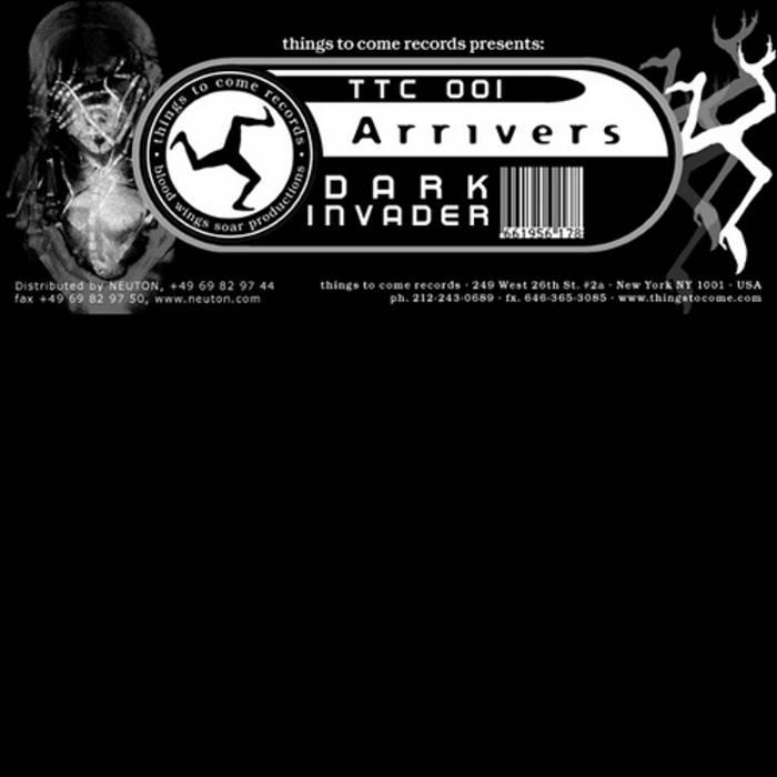 TTC-001/Dark Invader cover art