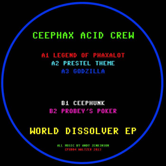 World Dissolver EP cover art