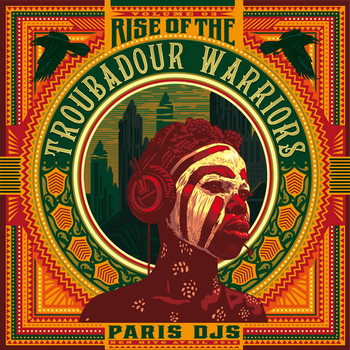 Rise of The Troubadour Warriors - Tropical Grooves & Afrofunk International Vol.3 cover art