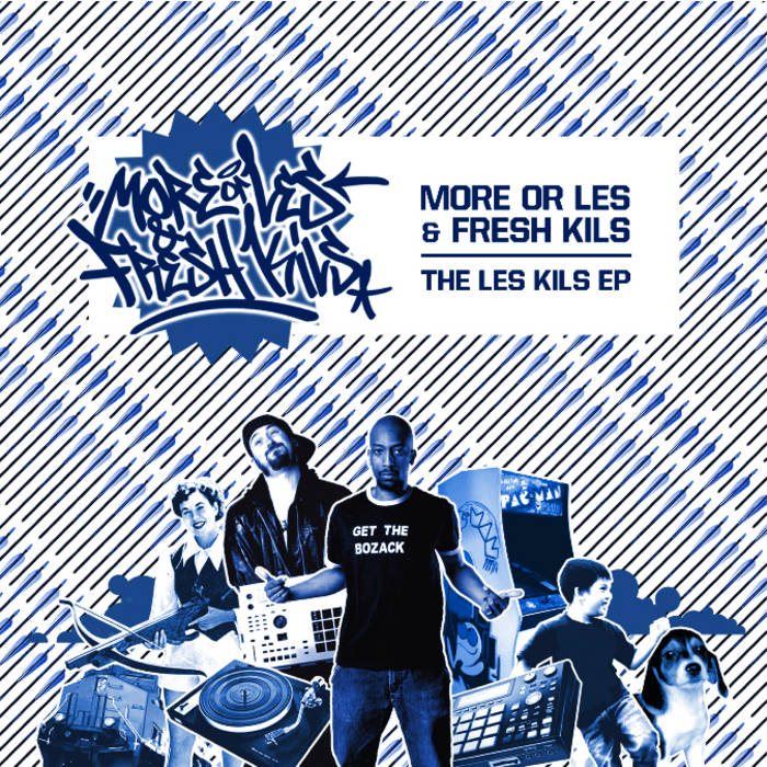 More Or Les & Fresh Kils-The Les-Kils EP cover art