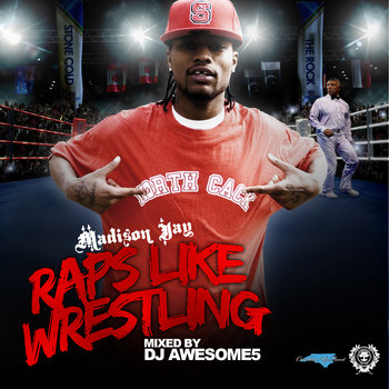 Raps Like Wrestling cover art