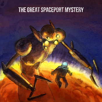 The Great Spaceport Mystery cover art