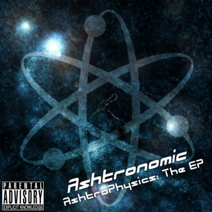 Ashtrophysics: The EP cover art