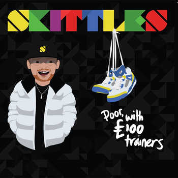 Poor with £100 trainers cover art