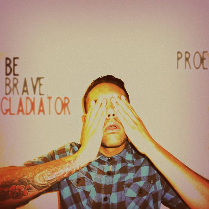 Be Brave, Gladiator cover art