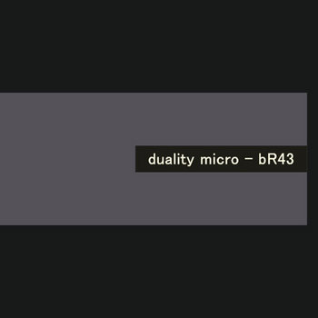 duality micro - bR43 cover art