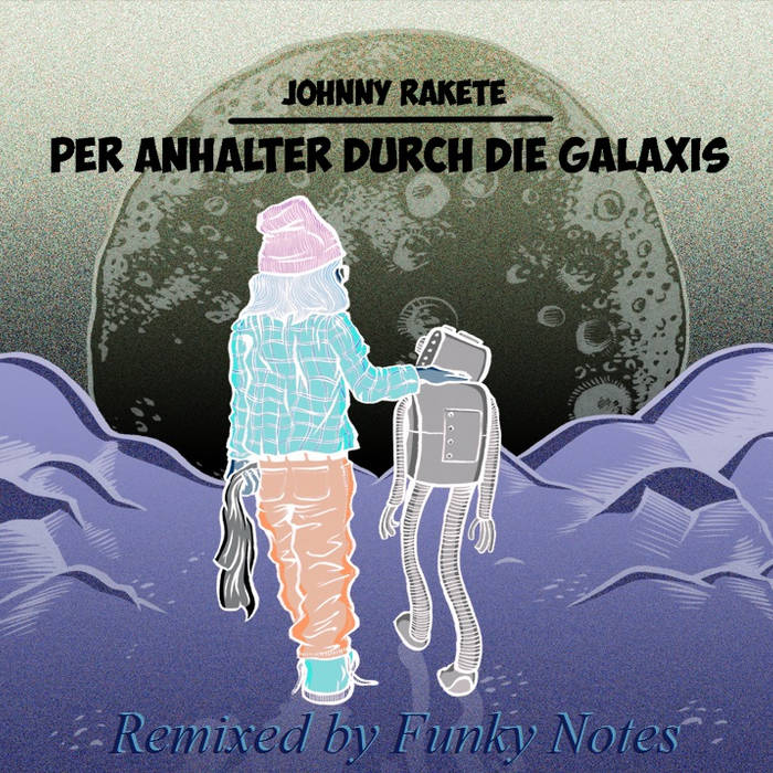 Per Anhalter durch die Galaxis (Funky Notes Remix EP) cover art