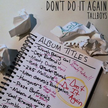Don't Do It Again cover art