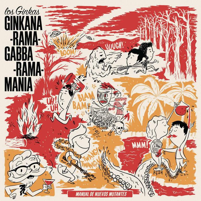 Ginkana-Rama-Gabba-Rama-Mania cover art
