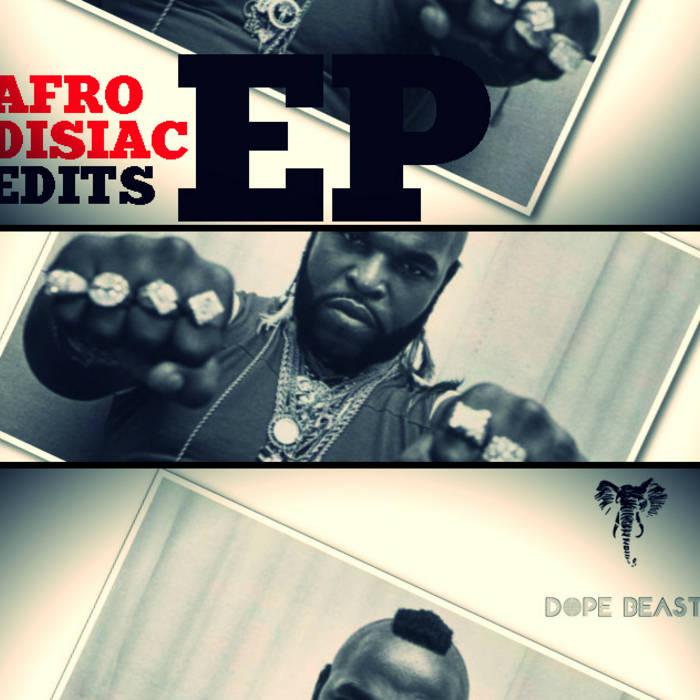 Karim - Afrodisiac Edits EP cover art