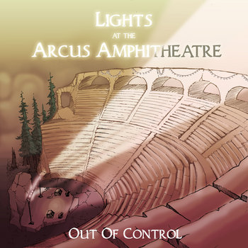 Lights at the Arcus Amphitheatre EP cover art