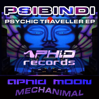 Psychic Traveller EP cover art