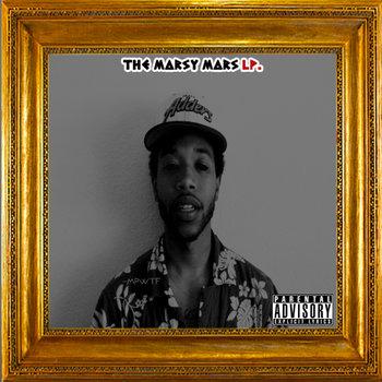The Marsy Mars LP. cover art