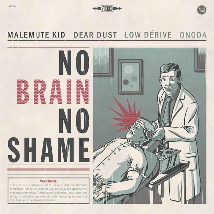 No Brain No Shame Split cover art