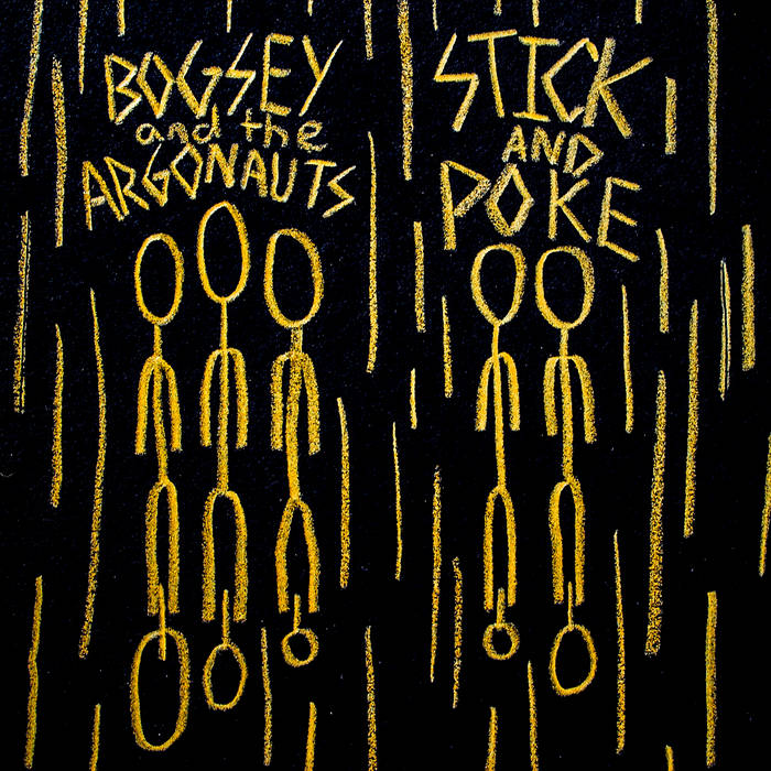 Bogsey and the Argonauts/ Stick and Poke Split cover art