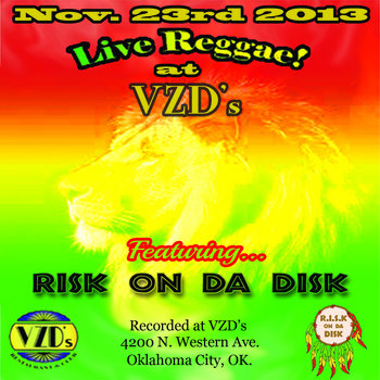 Risk on da Disk - Live at VZD's cover art