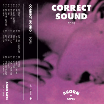 CORRECT SOUND cover art