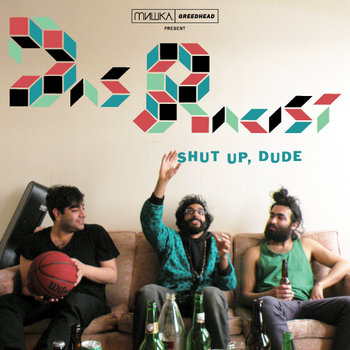 Shut up, Dude cover art