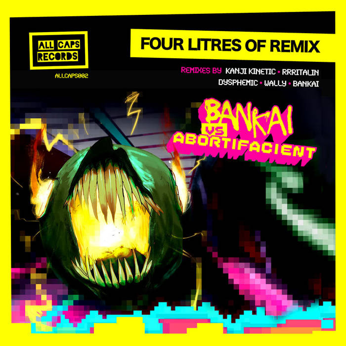 Four Litres of Remix cover art