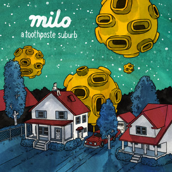 a toothpaste suburb cover art