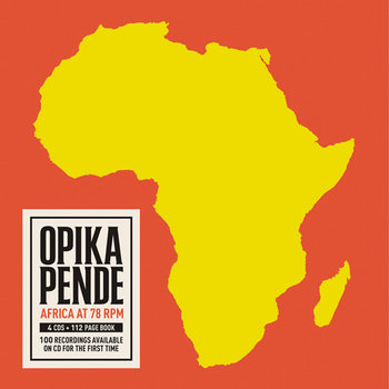Opika Pende: Africa at 78 RPM cover art